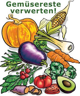 Gemüsereste trocknen